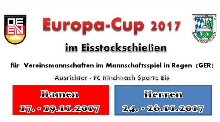 Der Europa-Cup 2017 in Regen